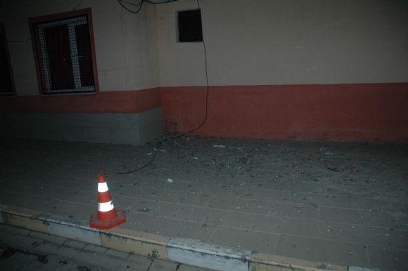Emniyet Müdürlüğüne roketatarlı saldırı