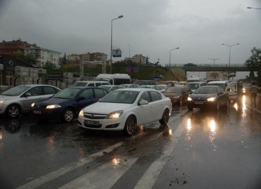 İstanbul Yağmura Teslim Oldu 11
