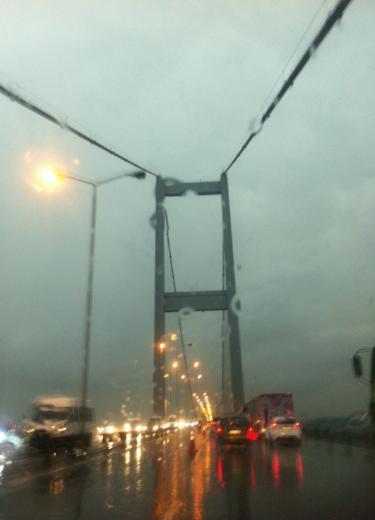 İstanbul Yağmura Teslim Oldu 15