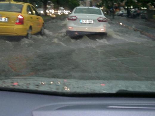 İstanbul Yağmura Teslim Oldu 16