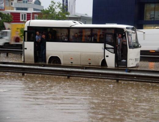 İstanbul Yağmura Teslim Oldu 6