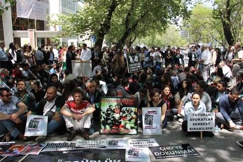 Çağdaş Hukukçular Derneği Ankara Eylemi 2