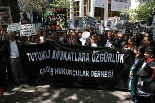 Çağdaş Hukukçular Derneği Ankara Eylemi 3