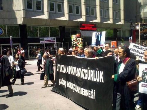 Çağdaş Hukukçular Derneği Ankara Eylemi 5