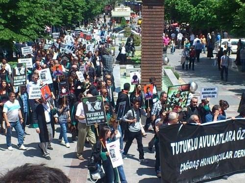 Çağdaş Hukukçular Derneği Ankara Eylemi 7