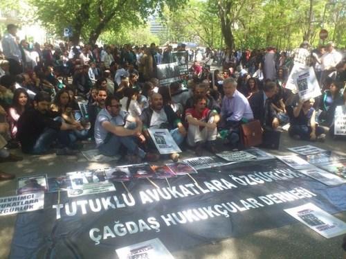 Çağdaş Hukukçular Derneği Ankara Eylemi 9
