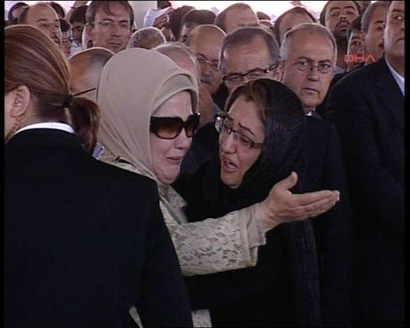 Erdoğan ve Şahinin gözyaşları