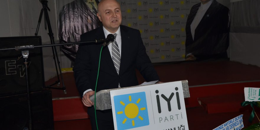 İYİ Parti Fatsa İlçe Başkanı Eroğlu: Meral Akşener'i desteklemek Türkiye'yi desteklemektir