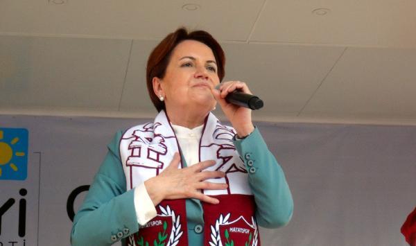 Akşener: İYİ Parti kurulunca AK Parti-MHP ittifakı yapıldı