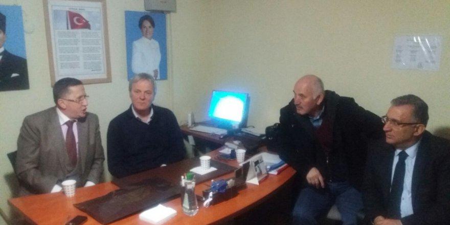 CHP İlçe Başkanından İYİ Parti'ye ziyaret