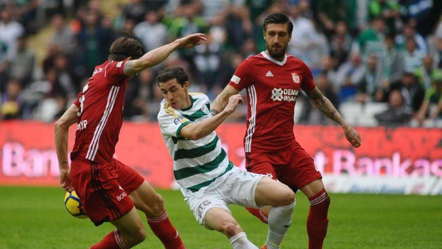 Bursaspor: 1 - Demir Grup Sivasspor: 0