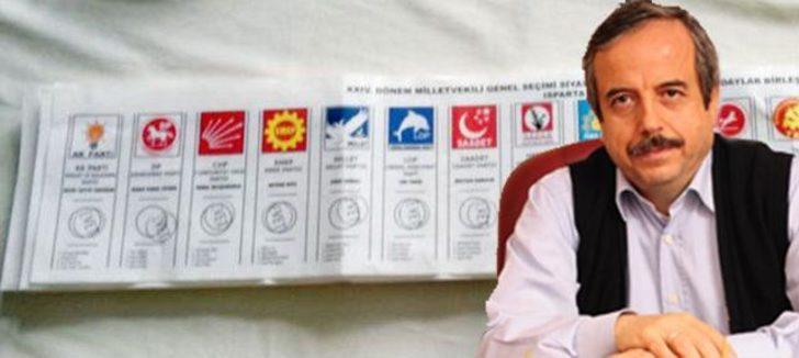 """""""AK Parti seçimlerde kayaya toslayacak, oy vermeyeceğim"""""""