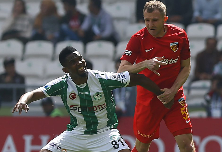 Atiker Konyaspor: 2 - Kayserispor: 0