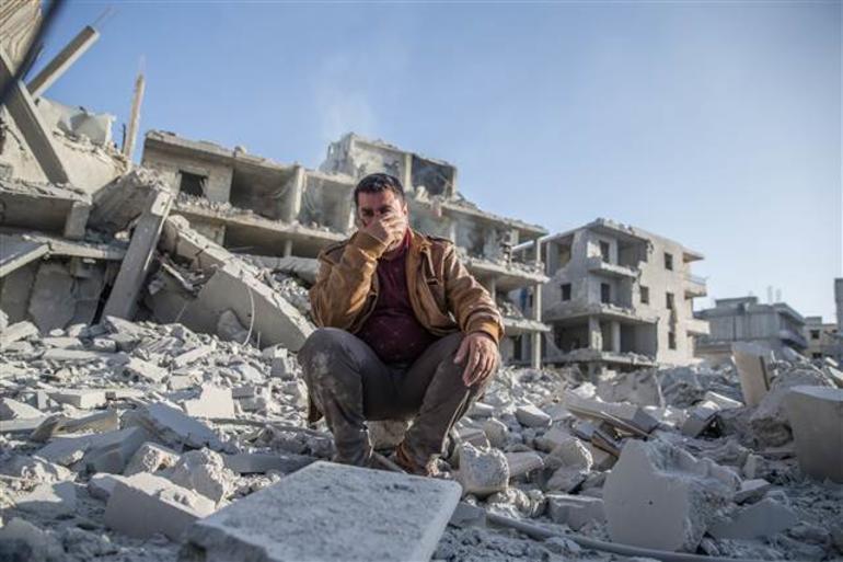 Afrin'de patlama: Çok sayıda ölü ve yaralı var