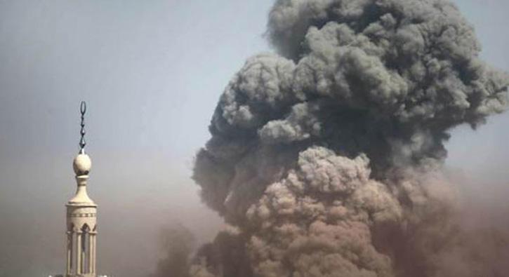 Son Dakika… Şam'da pazar yerine roketli saldırı