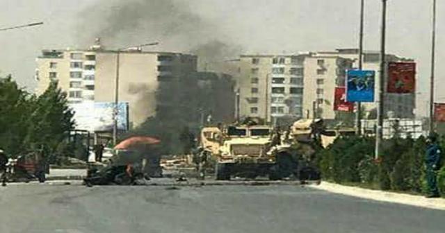 Kabil'de patlama: Onlarca ölü ve yaralı var