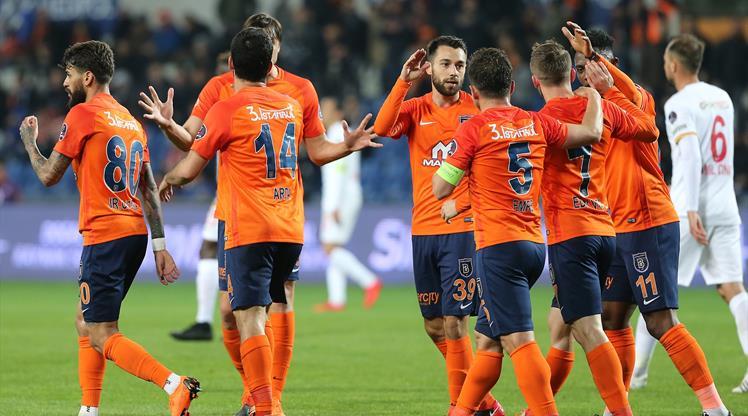 Medipol Başakşehir: 3 - Kayserispor: 1