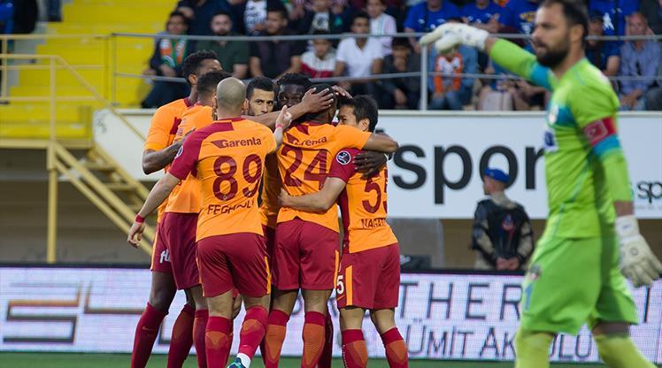 Aytemiz Alanyaspor: 2 - Galatasaray: 3