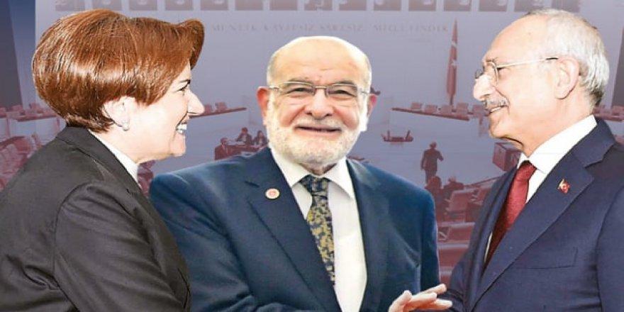 İYİ Parti, CHP, SP ve DP'den ittifak açıklaması