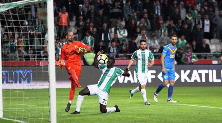 Atiker Konyaspor: 1 - Göztepe: 1