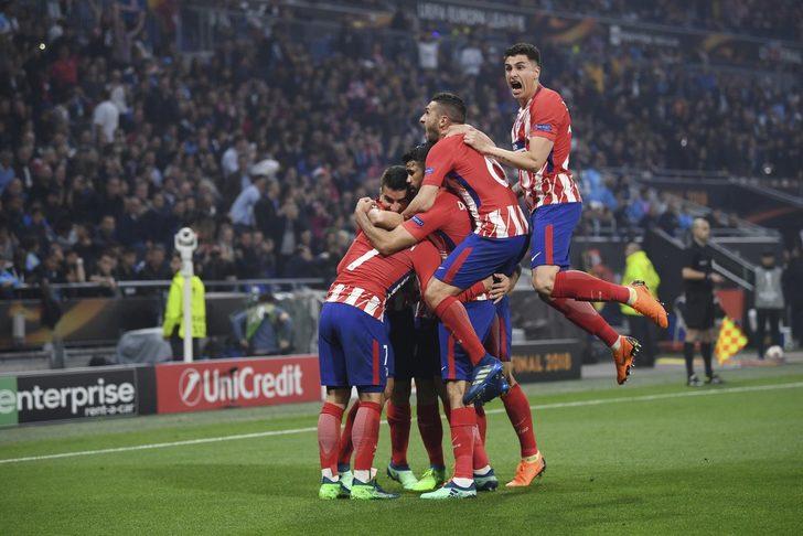 UEFA Avrupa Ligi şampiyonu Atletico Madrid oldu