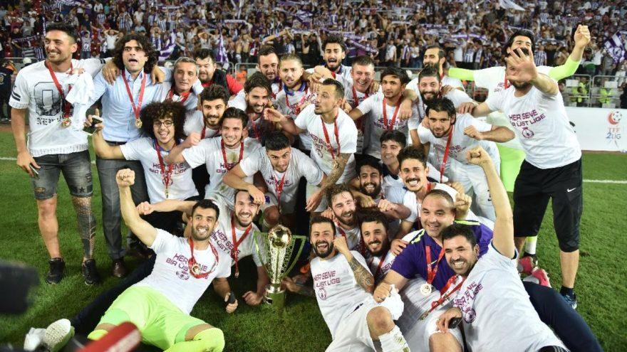 Spor Toto 1. Lig'e yükselen son takım Afjet Afyonspor oldu!