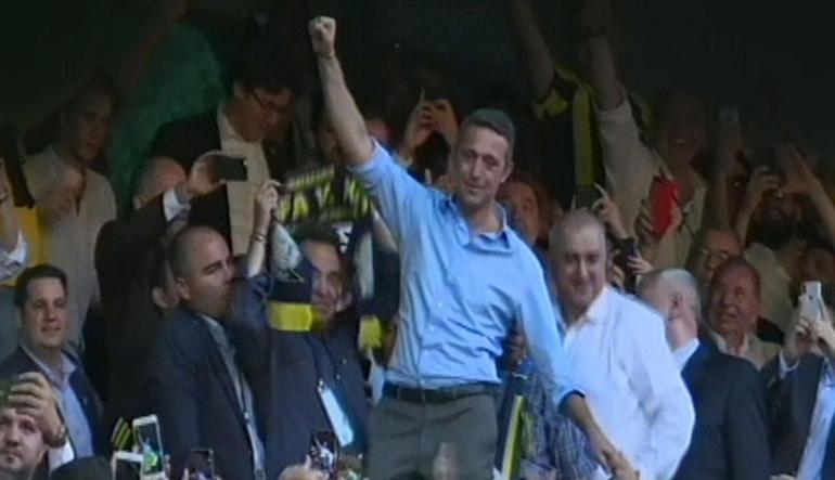 Fenerbahçe'de Ali Koç'tan tarihi zafer