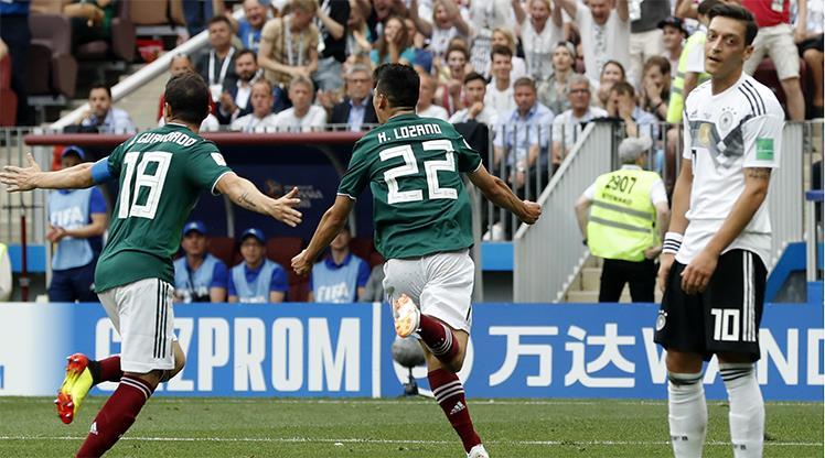 Meksika kazandı, Almanya şokta!