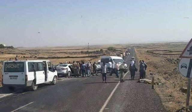 Viranşehir'de feci kaza: 3 ölü, 2 yaralı