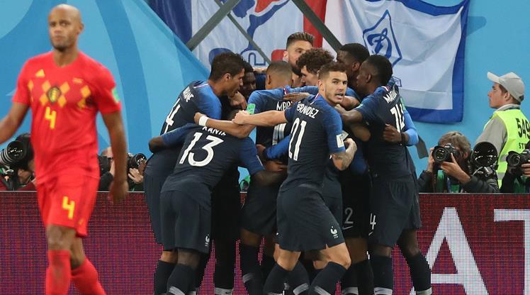 Dünya Kupası'nın ilk finalisti Fransa