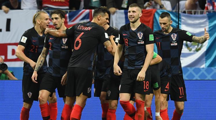Hırvatlar tarih yazdı! Fransa'nın rakibi Hırvatistan!