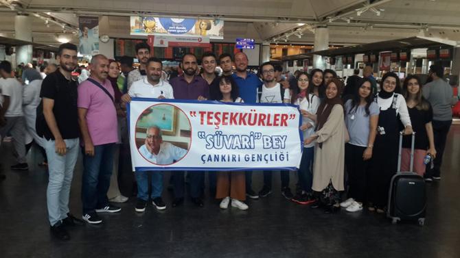 Çankırı Vakfı Başkanı Mustafa Can'dan anlamlı sponsorluk