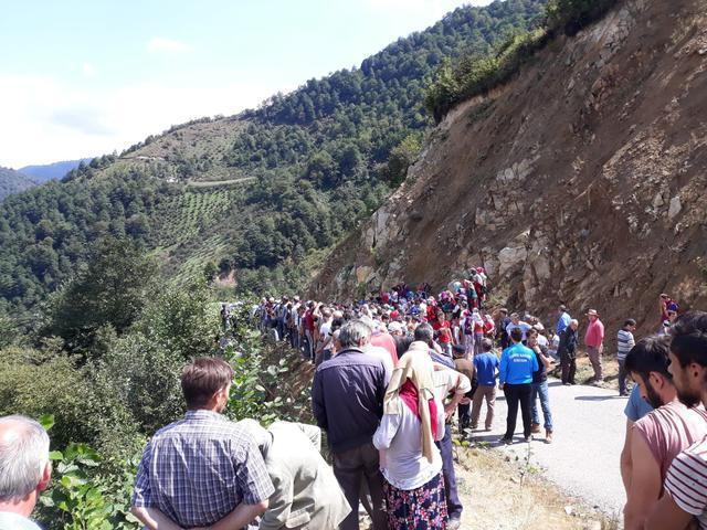 Giresun'da yayla yolunda kaza: 5 ölü, 11 yaralı!