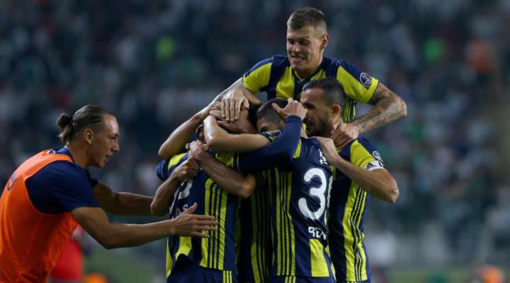 Atiker Konyaspor: 0 - Fenerbahçe: 1