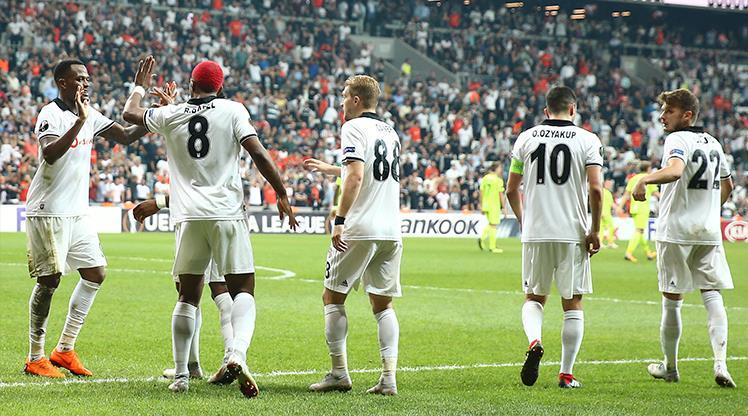 Beşiktaş: 3 - Sarpsborg 08: 1