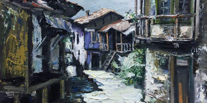 Ressam Ethem Baymak'tan yeni sergi...