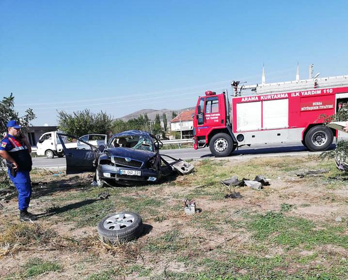 Bursa'da feci kaza: 4 kişi hayatını kaybetti
