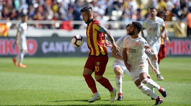 Evkur Yeni Malatyaspor: 4- Demir Grup Sivasspor: 4