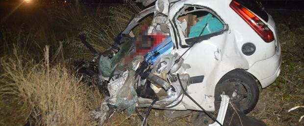 Ağrı'da feci kaza: 2 ölü, 1 yaralı