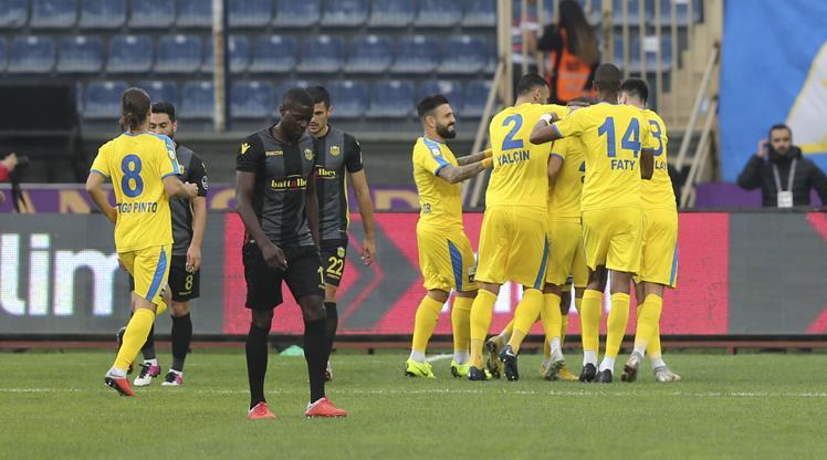 MKE Ankaragücü: 1 - Evkur Yeni Malatyaspor: 0