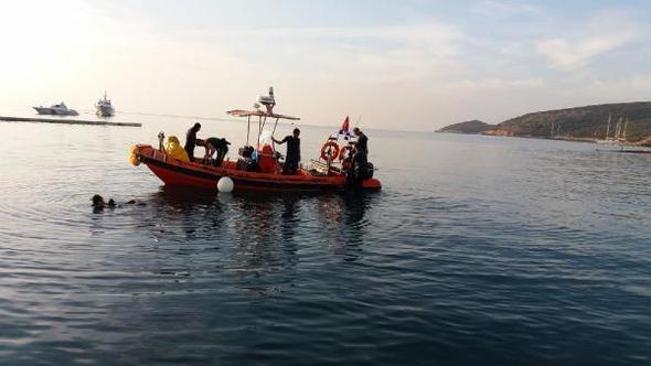 Bodrum'da tekne battı: Ölü ve yaralılar var