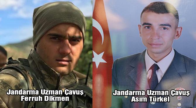 Tunceli'de iki askerimiz donarak şehit oldu!