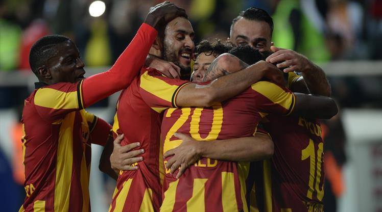 Evkur Yeni Malatyaspor: 2 - Galatasaray: 0