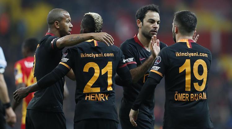 Kayserispor: 0 - Galatasaray: 3