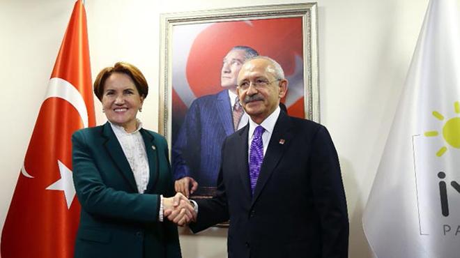 Kılıçdaroğlu-Akşener görüşmesi sonrası ortak açıklama