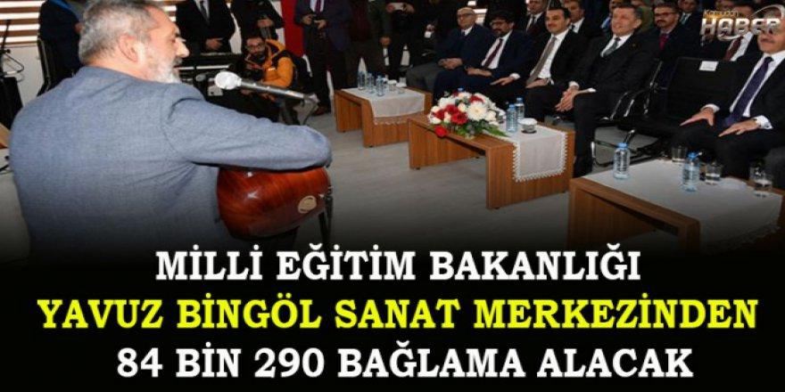 Milli Eğitim Bakanlığı Yavuz Bingöl'den 84 bin 290 bağlama alacak