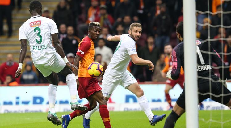 Galatasaray: 1 - Atiker Konyaspor: 1