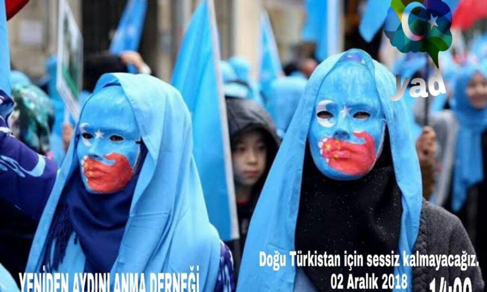 Pazar günü Taksim'de Doğu Türkistan için eylem var