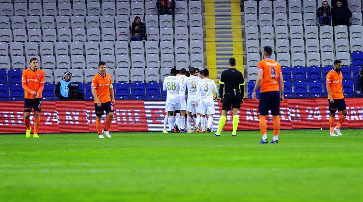 Medipol Başakşehir: 0 - Demir Grup Sivasspor: 1