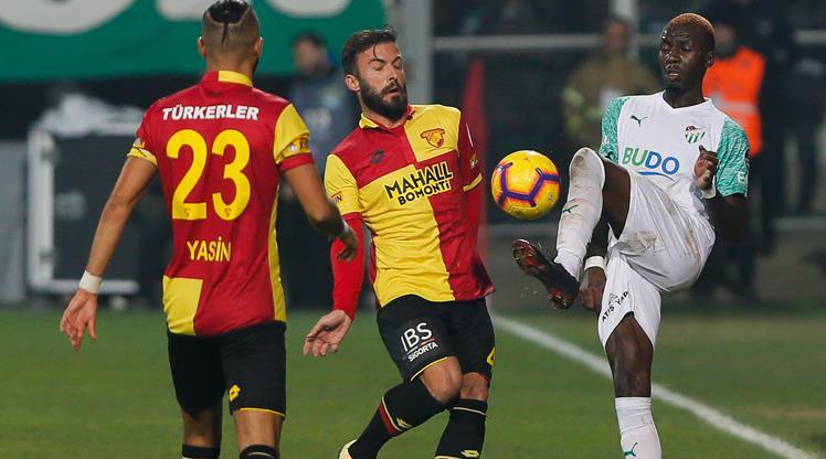 Göztepe: 0 - Bursaspor: 0
